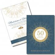 Invitation Noces d'or